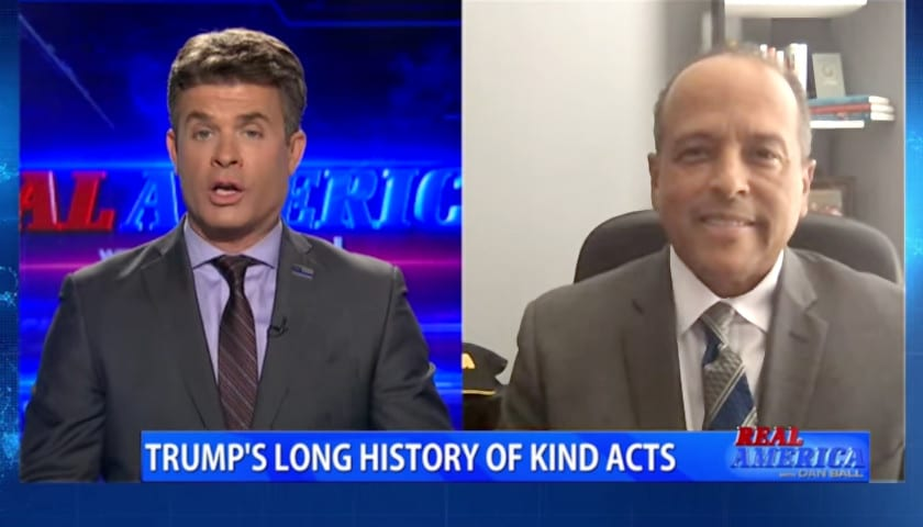 Aubrey Shines Appears on OAN's Real America with Dan Ball