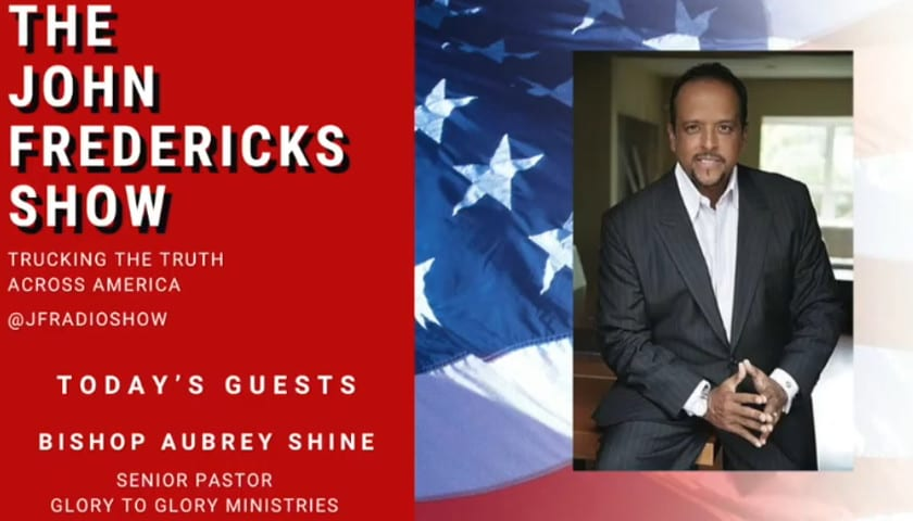 Bishop Aubrey Shines Appears on the John Fredericks Show