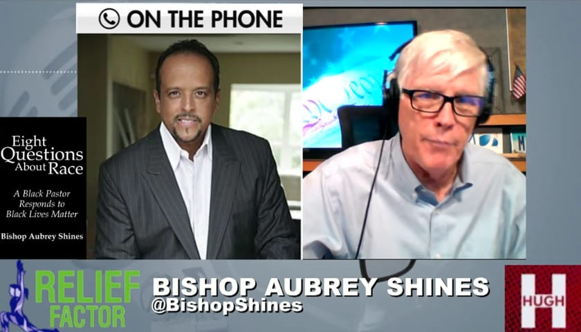 """Aubrey Shines Joins Hugh Hewitt to Discuss His New Book, """"Eight Questions About Race"""""""