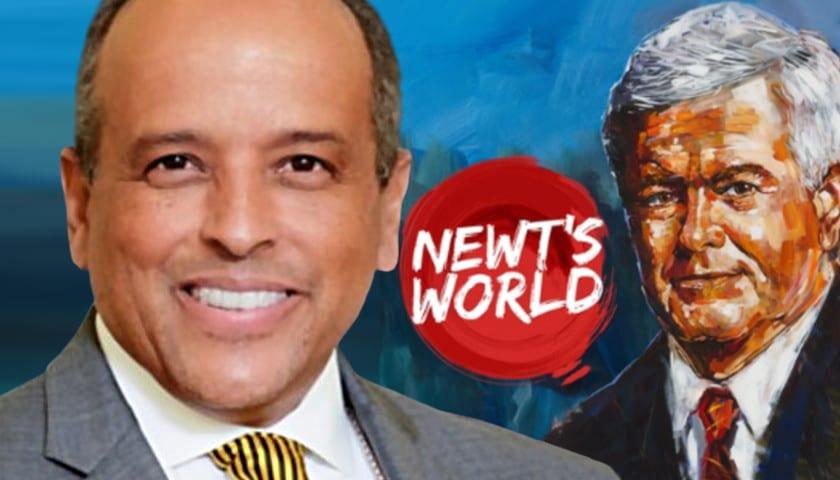 """Bishop Aubrey Shines in """"Newt's World"""" with New Gingrich"""